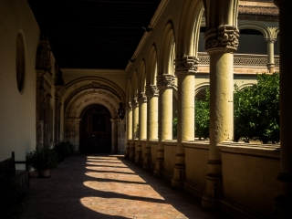 Cloister of the Cathedral of Granada, Andalucia, Spain